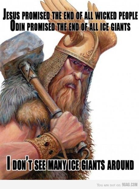 Odin  Jesus
